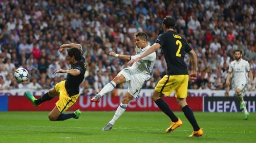 Ronaldo's hat-trick helped Real to gain a strong foothold in the tie