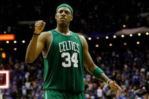 Paul Pierce led the Celtics to their 2008 NBA title.