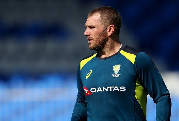 Aaron Finch would be under pressure to get a big score in the series