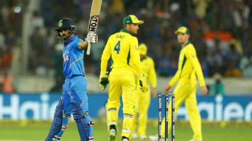 Kedar Jadhav was named Player of the Match for his superb all-round performance.