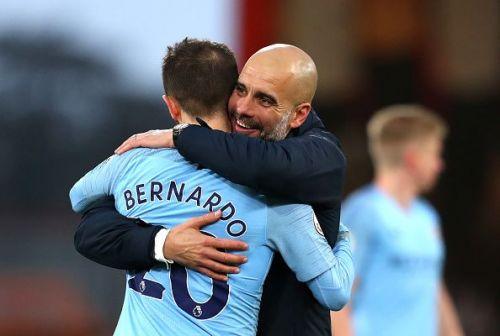 Pep adores Bernardo
