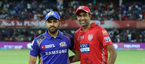Rohit Sharma and Ravichandran Ashwin (picture courtesy: BCCI/iplt20.com)