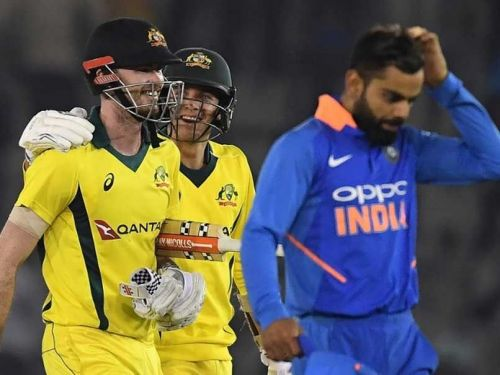 Australia recorded their highest ever chase in ODI history