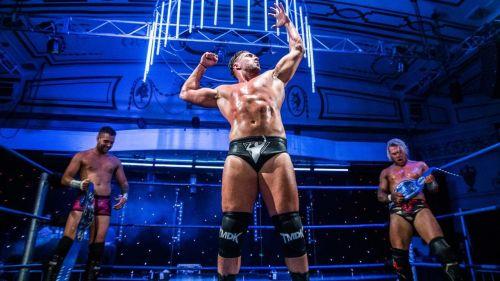 The 253 lb Australian professional wrestler