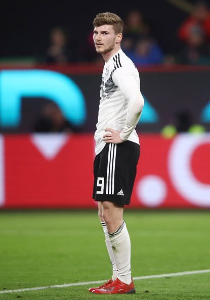 Timo Werner is the only out and out striker Germany have at the moment.