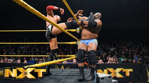 These two superstars recently faced off on an episode of NXT.
