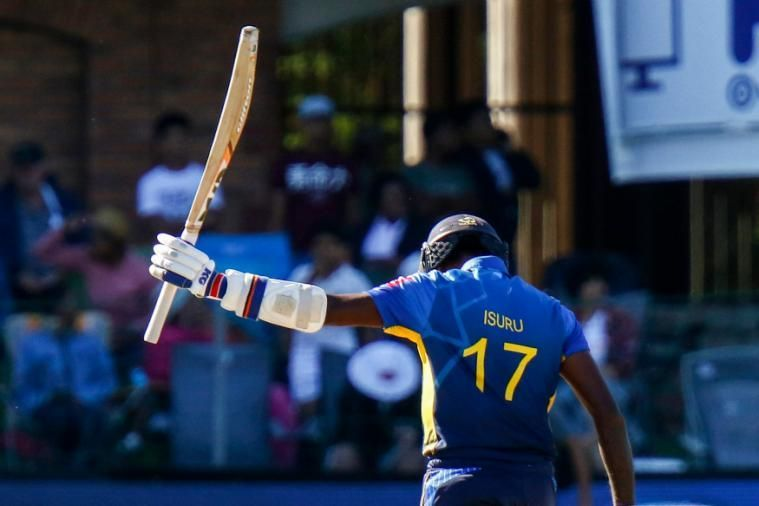 Isuru Udana scored 84 runs from 48 balls in the 2nd T20I against South Africa