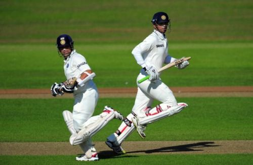 While Sachin was, obviously, the better batsman of the two, in certain spheres, Dravid outdid him