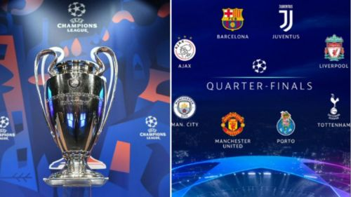 UEFA Champions League 2018-19 quarter -finals draw