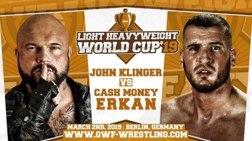 John 'Bad Bones' Klinger vs. Cash Money Erkan