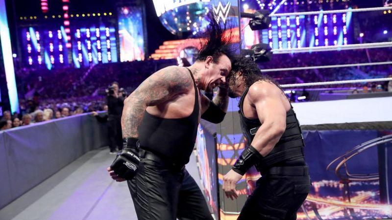 Undertaker vs Roman Reigns