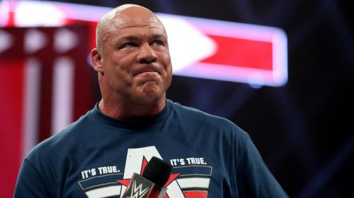 Kurt Angle announced that he will fight his last match at Wrestlemania 35