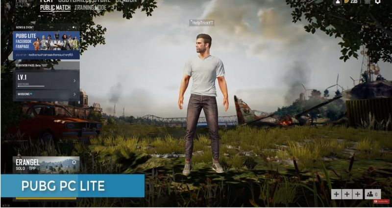 Pubg Lite For Pc Is The Game Just Like Pubg Mobile On Emulator