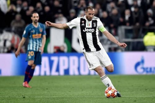 Chiellini's early goal was ruled out