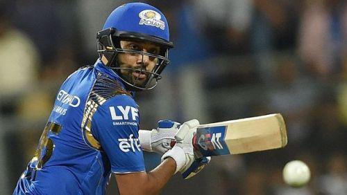 Rohit Sharma is the leading run scorer in MI vs DC matches held at Wankhede Stadium.
