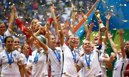 The USWNT are reigning World Champions