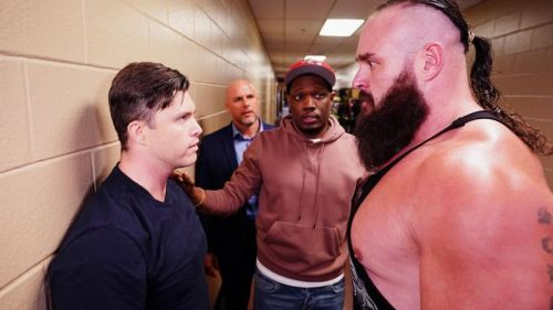 Colin Jost and Michael Che were announced as guest correspondents for WrestleMania 35