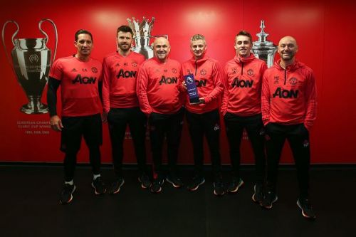 Ole Gunnar Solskjaer won the Barclays Manager of the Month Award - January 2019