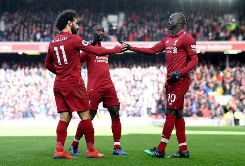 Liverpool beat Burnley 4-2 to remain second in the standings