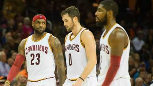 The Cavaliers Big Three