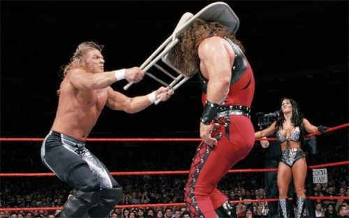 Triple H was a big star going into WrestleMania 15, but took another step up the ladder in a starring role at this PPV.