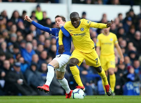 Kante is happy at Chelsea