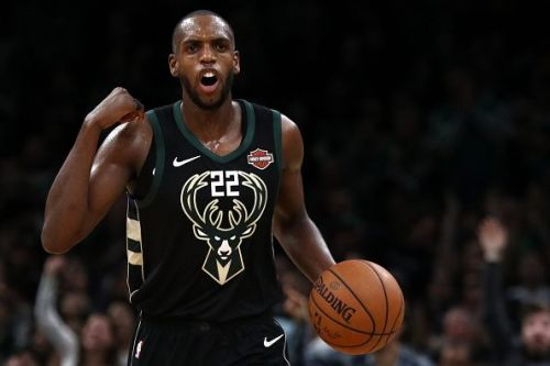 Khris Middleton is on a five-year contract with the Bucks