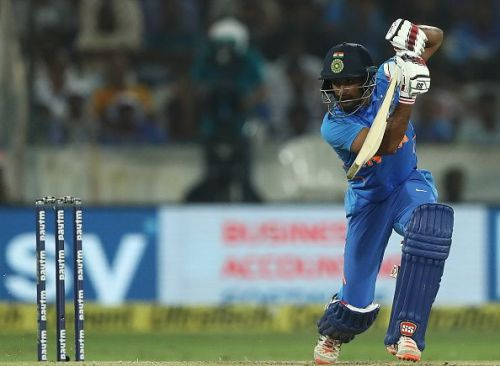 Ambati Rayudu's place in the playing eleven is once again under scrutiny