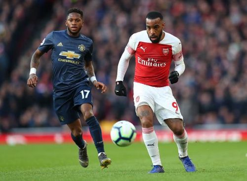 Lacazette could return to action in the Europa League after serving a two-match ban