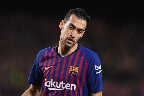 Sergio Busquets is Barcelona's midfield pivot