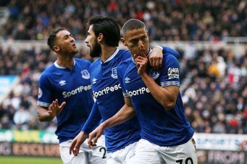 Richarlison is one of Everton's key threats
