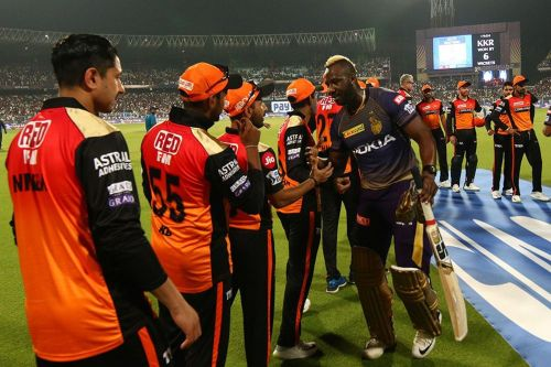 Russell's knock got a memorable win for KKR in front of their home fans. Image Courtesy: IPLT20