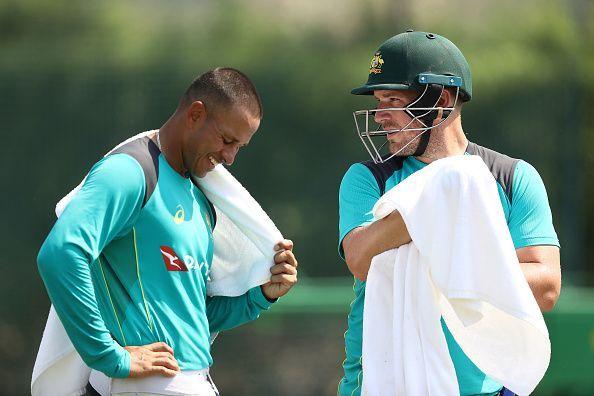 Australian Team Nets Session
