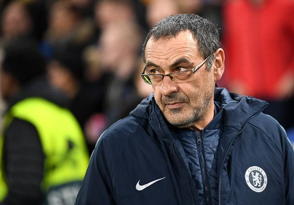 Maurizio Sarri gave some of his first-team stars a much-needed rest