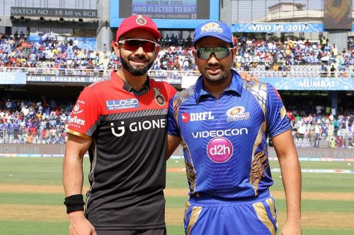 RCB - MI matches have been fiercely contested
