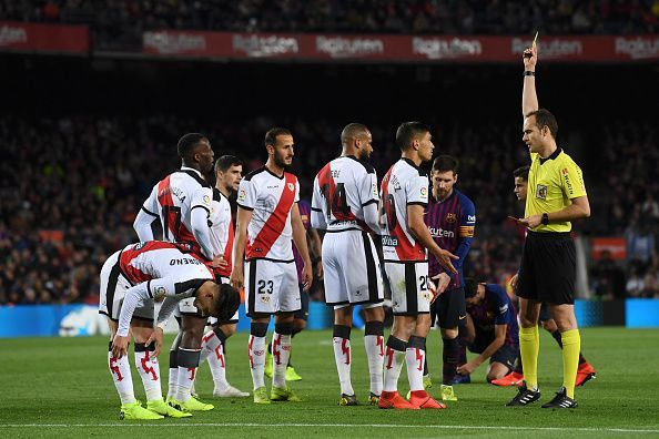 Rayo Vallecano fell away after their opening salvo