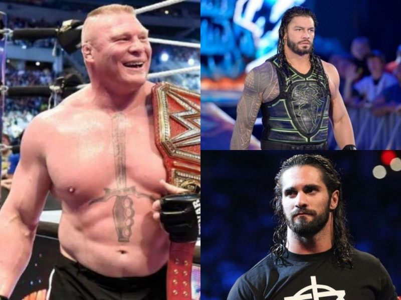 Will the three heavyweights collide in a triple threat match at WrestleMania 35?