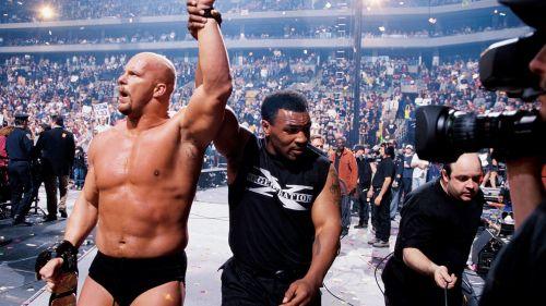 Mike Tyson's presence helped make Steve Austin's coronation complete.