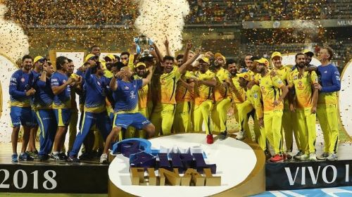 CSK again arrive as one of the favourites