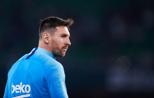 Leo Messi has scored 8 goals in the Champions League this season.