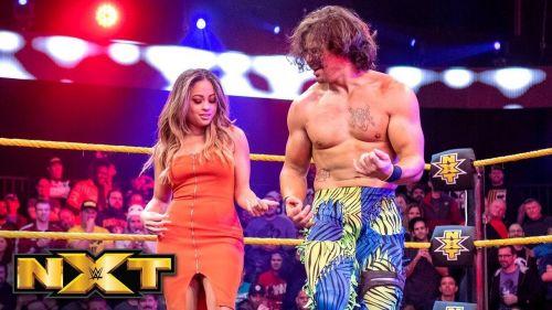 Eric Bugenhagen got fans immediately hooked when he showed up on NXT TV in February.