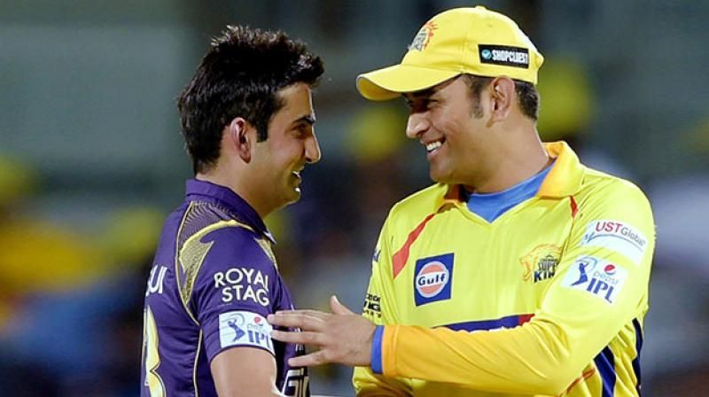 Image result for Gautam Gambhir names 3 cricketers MS Dhoni's Chennai Super Kings should release before IPL 2020