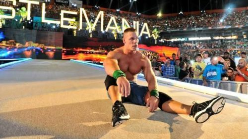 Cena devastated after the loss!
