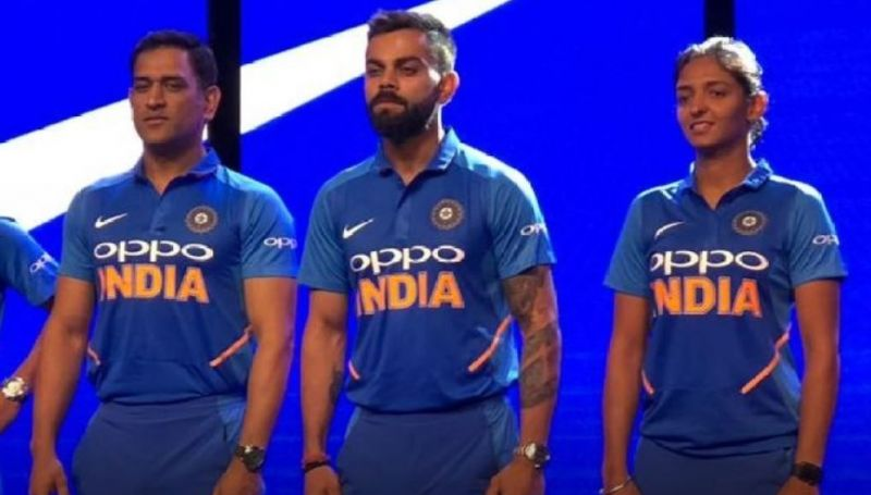 fa03e93fb82 New jersey for Indian cricket team unveiled
