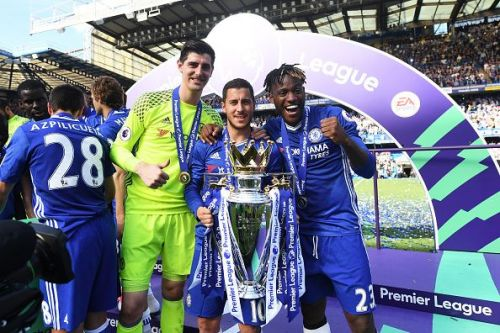 Hazard has won everything in England, including the Premier League title on 2 occasions