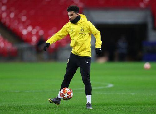 Jadon Sancho could be a potential Ballon d'Or winner