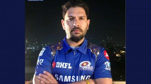 Yuvraj Singh of Mumbai Indians