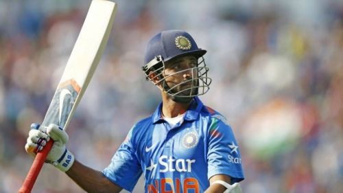 Can Rahane snatch the number 4 spot for the World Cup?