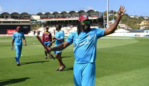 Chris Gayle showed that he is back to his best in ODIs