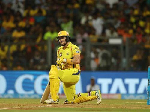 चेन्नई के लिए बल्लेबाज़ी करतेशेन वॉटसन